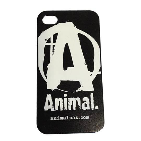Capa para Iphone 4 e 4S Animal (Preta) - Universal Nutrition