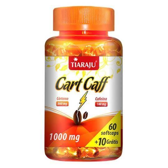 Cart Caff (1000mg) 60 cápsulas - Tiaraju