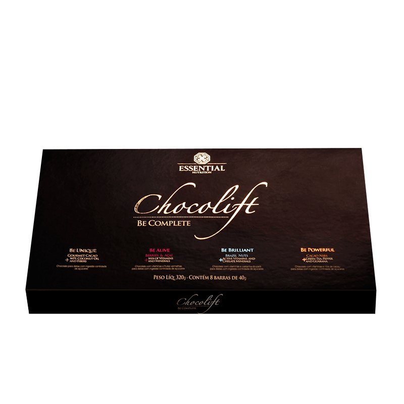 Chocolift Be Complete (8unid-40g)  Essential Nutrition