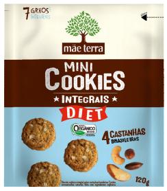 Cookies Orgânico Castanhas Brasileiras 120g - Mãe Terra