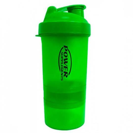 Coqueteleira 2 Doses (400ml) - Power Supplements
