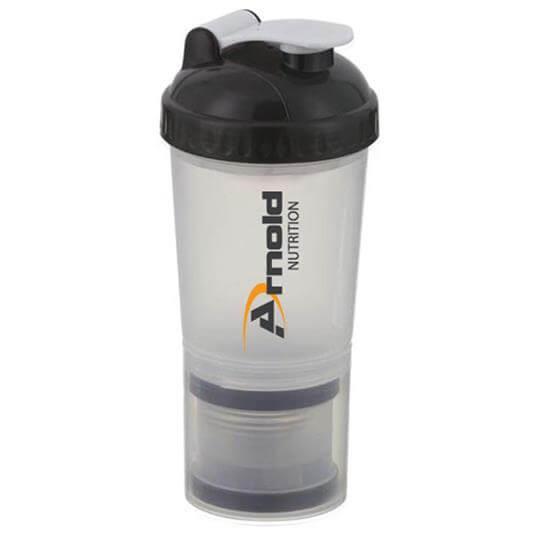 Coqueteleira com misturador (500ml) - Arnold Nutrition