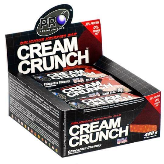 Cream Crunch (40g) (Caixa c/ 12unid) - Pro Premium Line