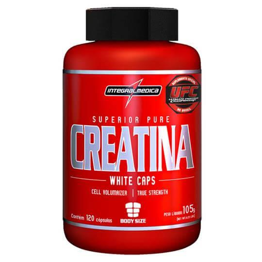 Creatina Bodysize (120caps) - Integralmédica