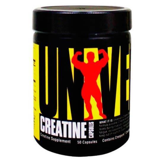 Creatine Capsules (50caps) - Universal Nutrition