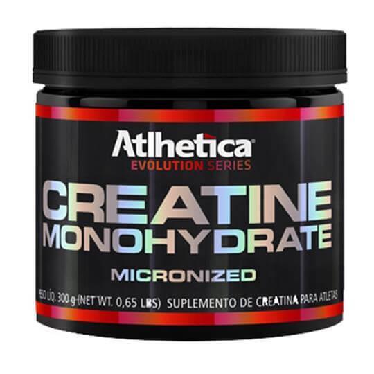 Creatine Monohidratada Micronizada (300g) - Atlhetica Nutrition