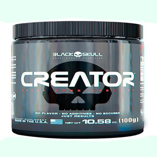 Creator Creatina (100g) - Black Skull
