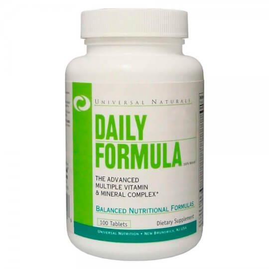 Daily Formula (multivitamínico) (100 tabs) - Universal Nutrition