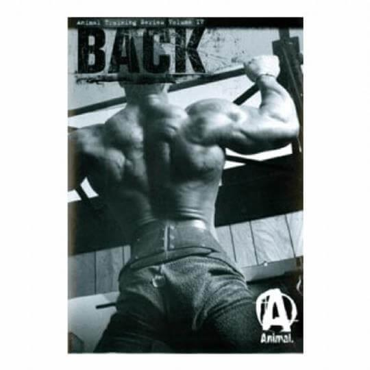 DVD ANIMAL Training Series Volume IV - Back (Costas) - Universal Nutrition