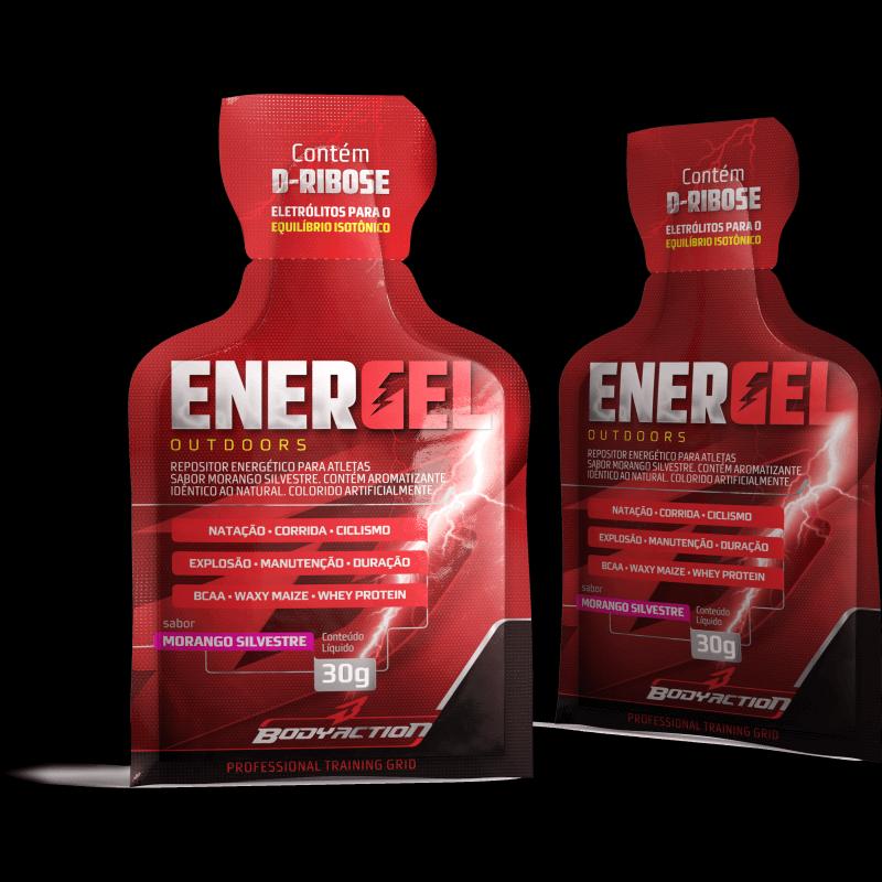 Energel Outdoors (10 sachês de 30g) Body Action