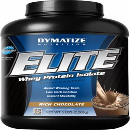 Elite Whey Protein Isolate (2268g) - Dymatize Nutrition