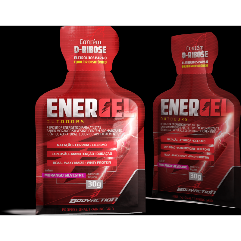 Energel Outdoors (10sachês-30g) Body Action-Morango