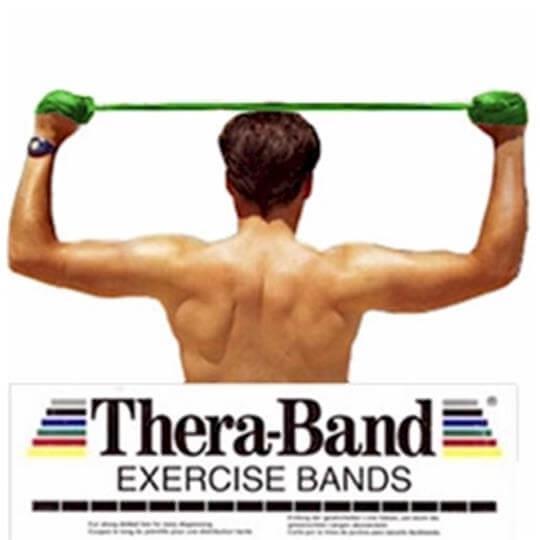 Faixa Elástica Verde (Forte)(1,5m) - Thera-Band