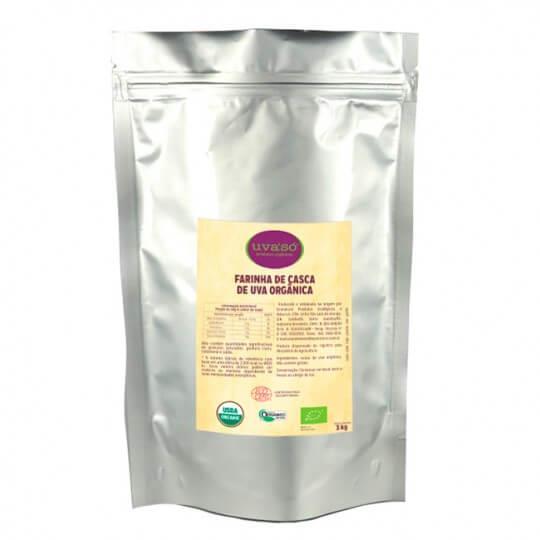 Farinha de Casca de Uva Orgânica UvaSó (3Kg) - Econatura