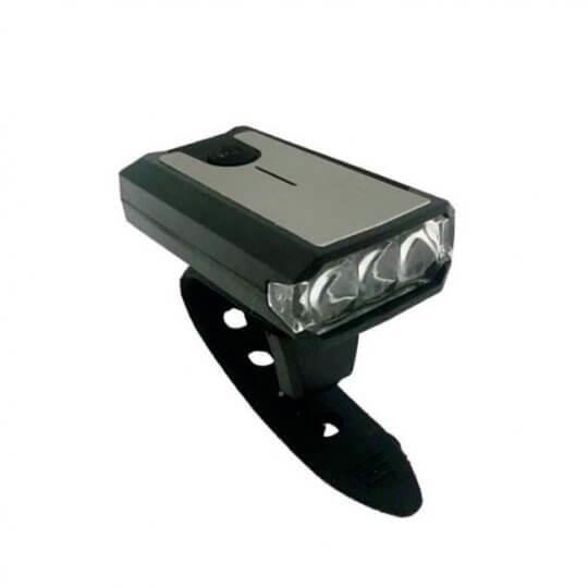 Farol para Bike - 3 Leds - USB - Elleven