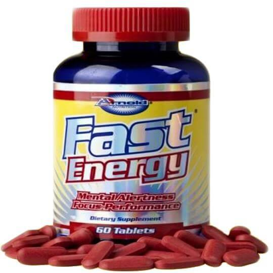 Fast Energy (60tabs) - Arnold Nutrition