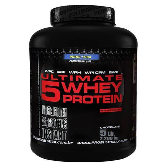 Ultimate 5 Whey Protein (2268g) - Probiótica