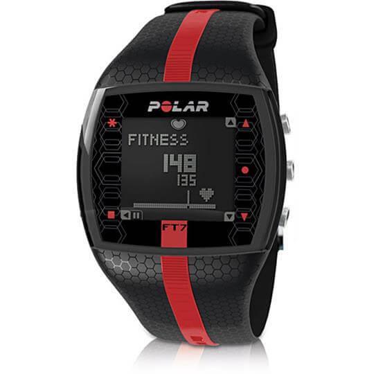 Monitor Cardíaco FT7M (Preto com Vermelho) - Polar (15% OFF)
