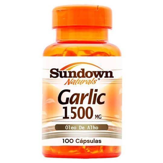 Garlic  (Óleo de Alho) 1500mg (100 caps) - Sundown