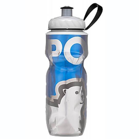 Garrafa Térmica Big Bear Azul (590ml) - Polar Bottle
