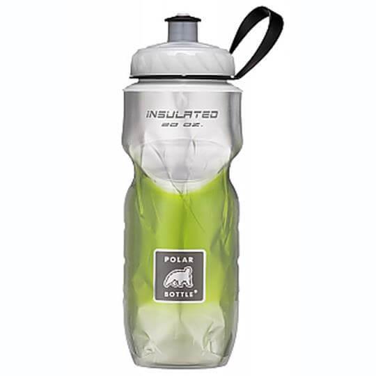 Garrafa Térmica Degradê Verde (590ml) - Polar Bottle