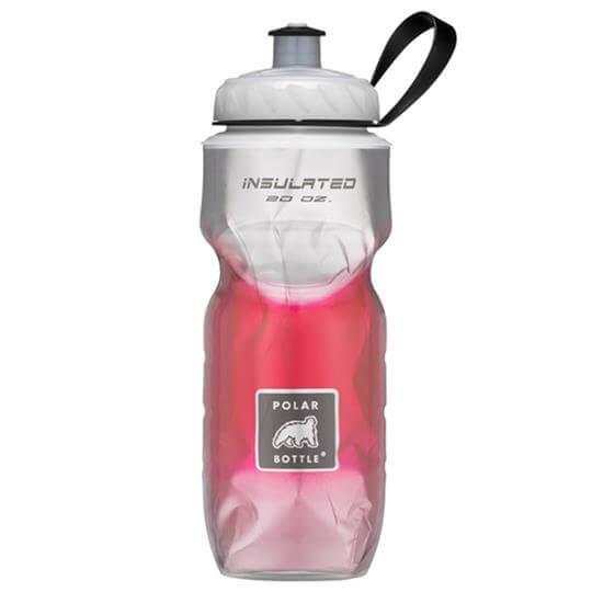 Garrafa Térmica Degradê Vermelha (590ml) - Polar Bottle