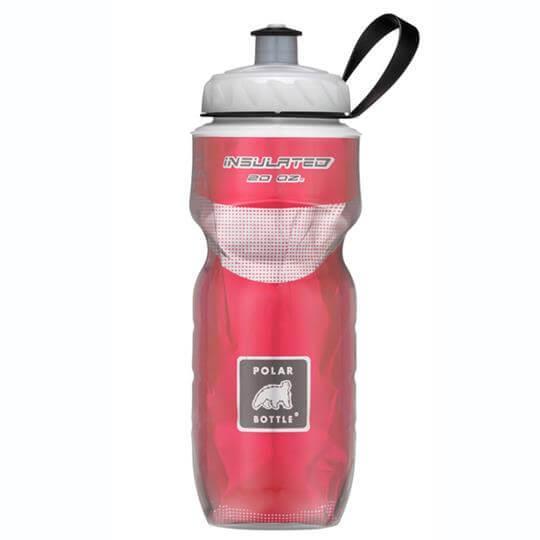 Garrafa Térmica Vermelha (590ml) - Polar Bottle
