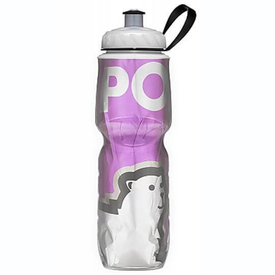 Garrafa Térmica Big Bear Roxa (710ml) - Polar Bottle