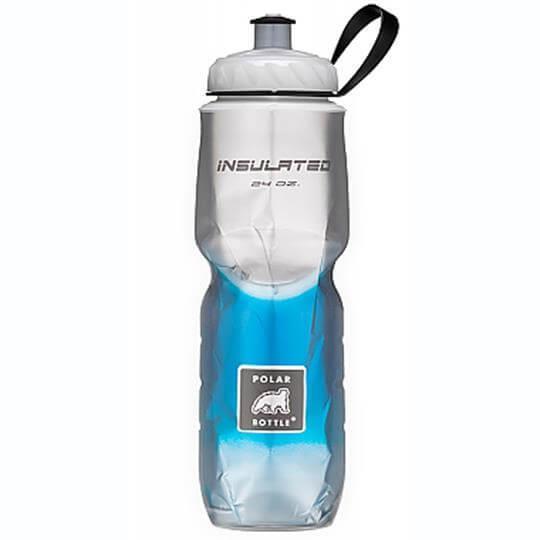 Garrafa Térmica Degradê Azul (710ml) - Polar Bottle