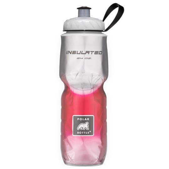 Garrafa Térmica Degradê Vermelha (710ml) - Polar Bottle