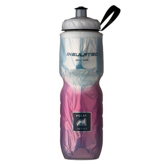Garrafa Térmica Degradê Rosa (710ml) - Polar Bottle