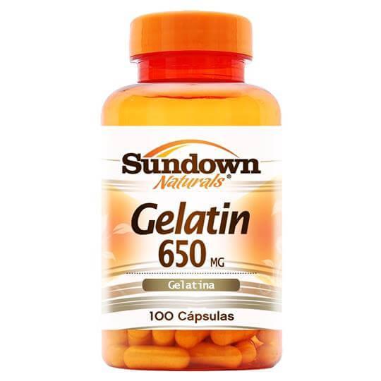 Gelatin 650mg (100caps) - Sundown
