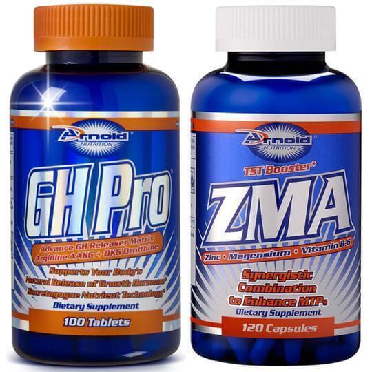 Kit GH Pro (100tabs) + ZMA (120caps) - Arnold Nutrition
