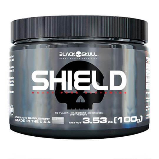 Glutamina Shield (100g) - Black Skull