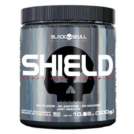 Glutamina Shield (300g) - Black Skull