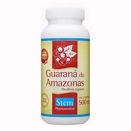 Guaraná do Amazonas 500mg (100comps) - Stem