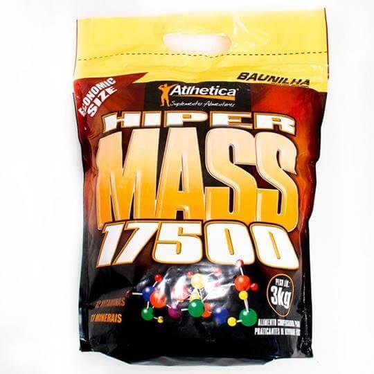 Hiper Mass 17500 Saco (3kg) - Atlhetica Nutrition