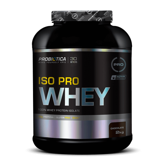 Iso Pro Whey (2kg) Probiótica -Baunilha