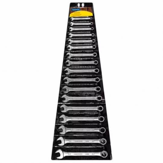 Jogo de Chaves Combinadas 17 Peças (6mm - 22mm) - Tramontina