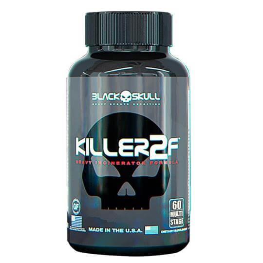 Killer 2f (60caps) - Black Skull