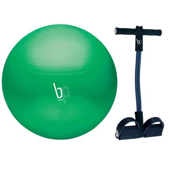 Kit Bola para Pilates 65cm + AB Exerciser - BP Fitness (50% OFF)