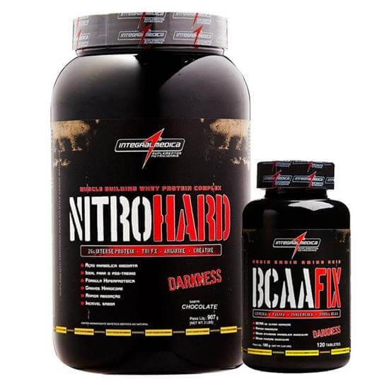 Kit Nitro Hard (907g) + BCAA Fix (120tabs) - Integralmédica