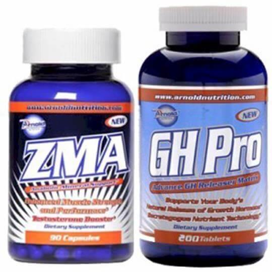 Kit GH Pro (200caps) + ZMA (120caps) - Arnold Nutrition