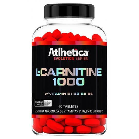 L-Carnitine 1000 (60tabs) - Atlhetica Nutrition