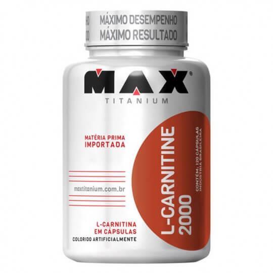 L-Carnitine 2000mg (120caps) - Max Titanium