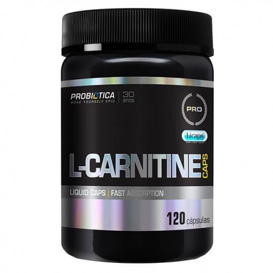L-Carnitine Caps 500mg (120caps) - Probiótica