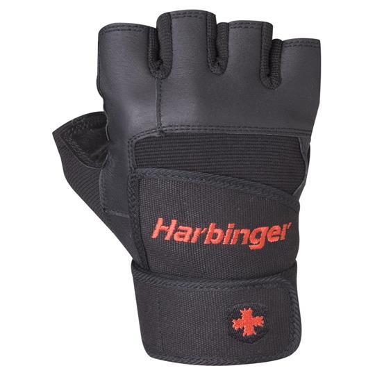 Luvas de Musculação Pro c/ Munhequeira - Harbinger