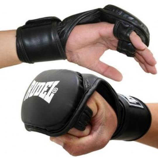 Luva para Combate MMA V3 (preta) - Rudel