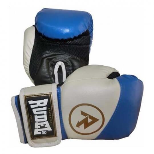 Luvas de Boxe Premium 10 Oz Azul - Rudel (PAR)   LIQUIDAÇÃO