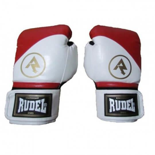 Luvas de Boxe Premium 12 Oz  Vermelha - Rudel (PAR)